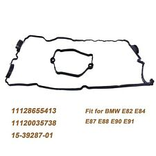 Engine Valve Gasket Cylinder Head Cover Set for BMW E82 E84 E88 E90 1120035738