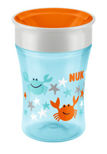 NUK Magic Cup 230ml mit Trinkrand Trinklernbecher Krabbe 8m+