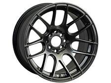 XXR 530 17X7 Rims 4x100/114.3 +35 Chromium Black Wheels (Set of 4)