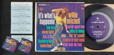 "WILLIE MITCHELL SHL-32031 mini LP *JUKEBOX ONLY* 7"" 33⅓ RPM soul jazz funk NM-"
