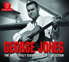 GEORGE JONES - THE ABSOLUTELY ESSENTIAL 3CD COLLECTION 3 CD NEW+