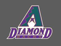 Arizona Diamondbacks Vintage Logo 1998-2006 Vinyl Vehicle Laptop Decal