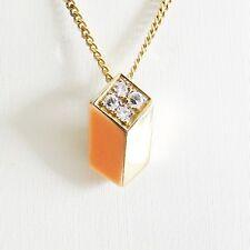 Anhänger Gold 585er Koralle Diamanten 14 kt. Goldschmuck Edelsteine Damen