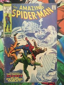 Amazing Spiderman #74  GD Silvermane Appearance Romita!