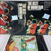 Mountain Best Of Nantucket Sleighride 3LP Record Bundle Lot LP Greatest Hits