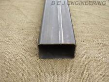 Mild Steel Box 100mm x 60mm x 3mm - 200mm lg - Rectangular Tube