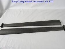 2pcs Indonesia ebony black cello fingerboard 4/4 #6332,cello part