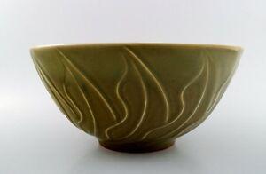 Christian Poulsen (1911-1991) Bing & Grondahl B & G Stoneware bowl