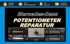 Mercedes Becker Drehregler Poti Reparatur BE1150 BE1492 BE1692 BE2210 BE1490