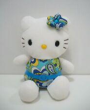 """Hello Kitty Art Dress Sanrio Eikoh  Plush 7"""" TAG Stuffed Toy Doll Japan"""