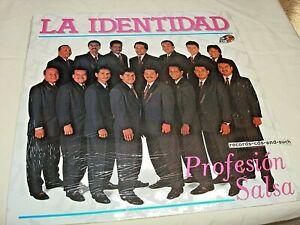 LA IDENTIDAD-PROFESION SALSA-ZEIDA 29821636 NM/NM VINYL RECORD ALBUM LP