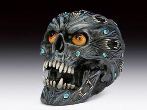 Skull Evil Head Steampunk Figurine Statue Skeleton Halloween