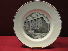 """Tri State Pottery Festival 1982 Travelers Hotel 10"""" Plate by Hans Hacker"""