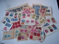 Japan stamps, on paper.  Duplicates.  weight = 26 grams.