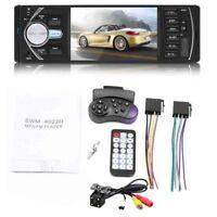 Bluetooth Autoradio Car Stereo Radio FM Aux Input Receiver SD USB JSD-520 1 R3K3