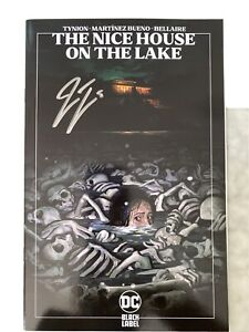 NICE HOUSE ON THE LAKE 1 THIRD EYE Tiny Onion Variant Signed by TYNION LTD 500