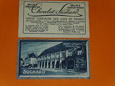 CHROMO PHOTO CHOCOLAT SUCHARD 1928 FRANCE GRAY HOTEL DE VILLE HAUTE SAONE