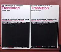 NEW YORK INSTITUTE OF TECHNOLOGY TRANSITORI II VOLUMI FRANCO ANGELI EDITORE 1978