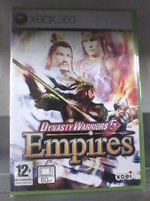 DYNASTY WARRIORS 5 EMPIRES Xbox 360 Nuovo!!!