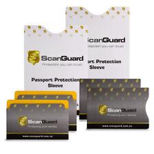 ScanGuard RFID Blocking Sleeves - Mixed Travel Pack