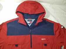Vintage Mens Tommy Hilfiger Jacket Rn 77806 Ca20781 Size 2Xl Red White Blue