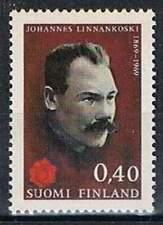 Finland postfris 1969 MNH 663 - Johannes Linankoski