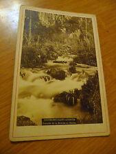 ancienne photo sousmont saint quentin cascade de la breche au diable