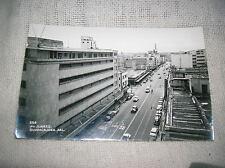 Vintage Av. Juarez, Guadalajara, Mexico Real Photo Postcard - RPPC