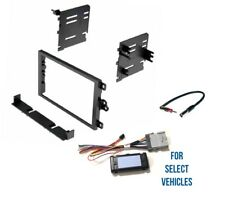 Double Din Radio Install Combo for select 2003-2006 GM Silverado Sierra Suburban