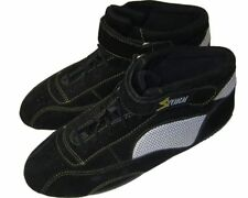 Storm Racing Stivali-UK 4 / EUR 37-NERO Kart, BICI, CORSA Boot-qualità superiore