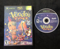 Voodoo Vince — Cleaned/Tested! Fast Free Shipping! (Microsoft Xbox, 2003)