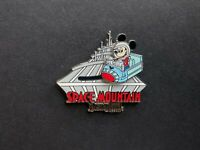 DLR - Space Mountain Attraction Logo Mickey Disney Pin 88640