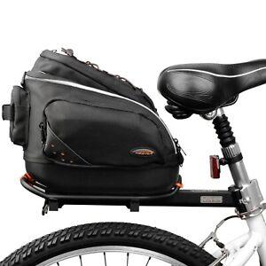 Ibera Bike Mini Trunk Bag Rear Mountain Road Bike Quick-Release Commuter Bag