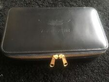 Aston Martin Leather Vanity Washbag Case Collectable Used