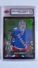 Henrik Lundqvist 2016-17 Precious Metal Gem Green #5/10 Card KSA Graded 9.5!!!