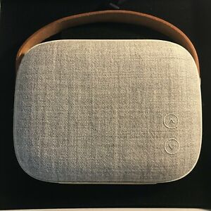 Vifa Helsinki Hi-Res Wireless Portable Speaker ☆ Sandstone Grey ☆ Near Mint