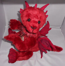 Charlie Bears SERAPHINA the Dragon ~ 2017 Collection by Alison Mills ~ NEW + Bag