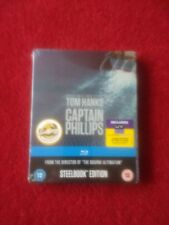 Captain Philips Blu ray Steelbook plus ultraviolet brand new and sealed rare