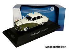 Wartburg 311 Volkspolizei Bj 1964 1:43 IXO / IST CCC058 Cars & Co NEU & OVP