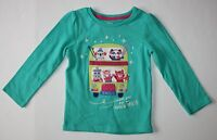 New Gymboree Girls Ski Animal Friends in Bus Top 6-12m NWT Adventure Smile