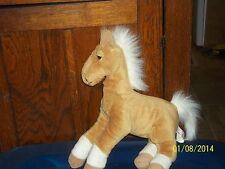 ANIMAL ALLEY TAN HORSE FOAL PONY PLUSH
