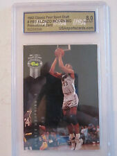 1992 ALONZO MOURNING #PR5 USA GRADED 8.0 NM-MT BASKETBALL CARD    BOX W