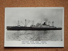 R&L Postcard: Twin Screw Motor Vessel Condesa, Furness Houlder