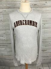 Men's Abercrombie & Fitch Jumper - Medium Muscle Fit - Beige - Great Condition