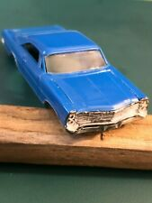 #1386 1967 FORD GALAXIE XL500 BLUE BODY SHELL ONLY Vintage Aurora TJet 500