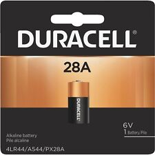 Duracell A544,28A, A28PX, A28, 4LR44 6V Battery Dog Training Shock Collar
