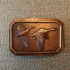 Great American Company Belt Buckle with Wild Geese Numbered Solid Brass Wow! |