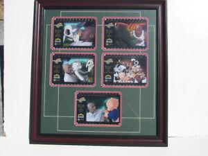 1996 Upper Deck Space Jam CelCard Cel Card Michael Jordan FRAMED Photo Picture