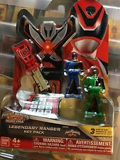 Power Rangers megaforce key set for legendary morpher spd rare set