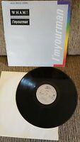 """WHAM - I´M YOUR MAN - MAXI LP - VINILO VINYL LP 12"""" 1985 VG+/G+ GEORGE MICHAEL"""